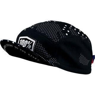 100% Exceeda Road Cap, black - Radmütze