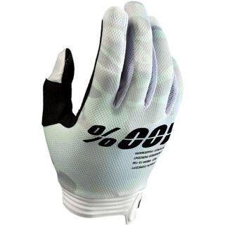 100% iTrack Glove, white camo - Fahrradhandschuhe