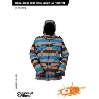 Special Blend Venom Jacket, tan threepeat - Snowboardjacke