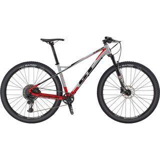 GT Zaskar Carbon Expert 2019, grey & red w/ black - Mountainbike