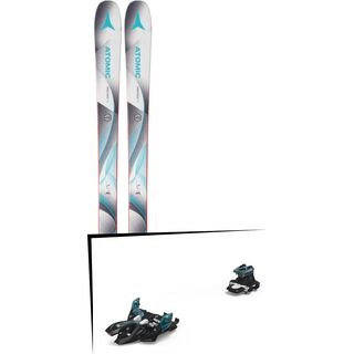 Set: Atomic Vantage 85 W 2018 + Marker Alpinist 9 black/turquoise