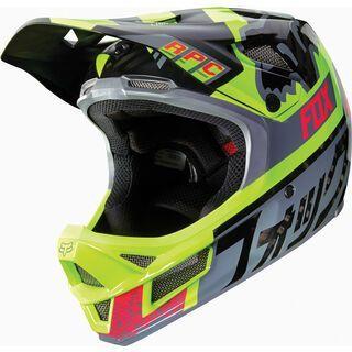 Fox Rampage Pro Carbon Helmet, grey - Fahrradhelm