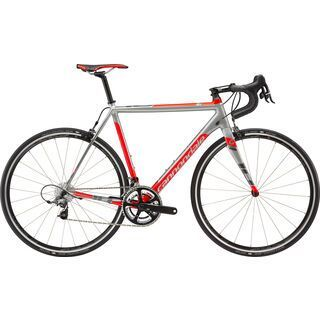 Cannondale CAAD10 Force Racing Edition 2015, grey/silver/red - Rennrad