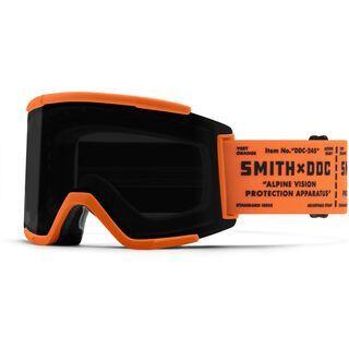 Smith Squad XL inkl. WS, Artist Series | Draplin/Lens: cp sun black - Skibrille