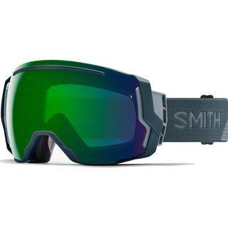 Smith I/O 7 inkl. Wechselscheibe, thunder split/Lens: everyday green mirror chromapop - Skibrille