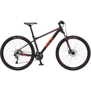 GT Avalanche Sport 29 2018, black/red - Mountainbike
