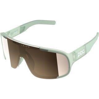 POC Aspire, apophyllite green/Lens: clarity silver - Sportbrille