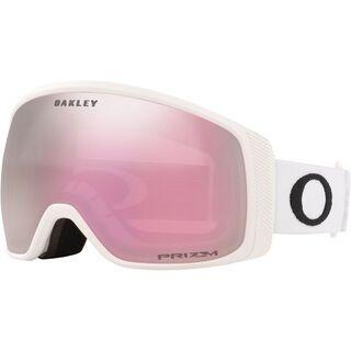 Oakley Flight Tracker XM Prizm, matte white/Lens: hi pink iridium - Skibrille