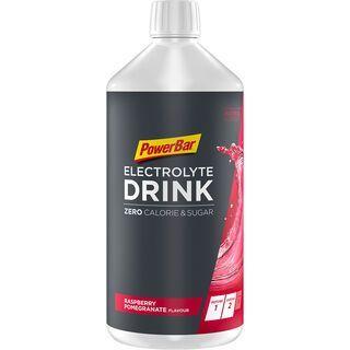 PowerBar Electrolyte Drink Zero Calorie & Sugar - Raspberry-Pomegranate / Himbeere-Granatapfel - Konzentrat