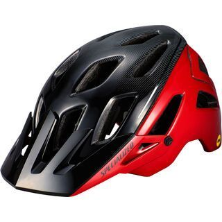 Specialized Ambush ANGi MIPS, flo red/black - Fahrradhelm