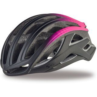 Specialized S-Works Prevail II, matte black/pink - Fahrradhelm