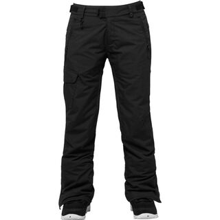 686 Women's Authentic Misty Insulated Pant, Black - Snowboardhose