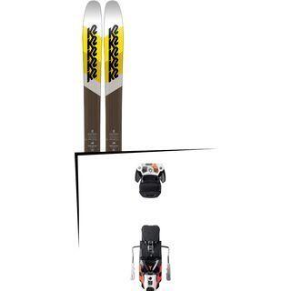 Set: K2 SKI Marksman 2018 + Atomic Warden MNC 13 white/black/orange