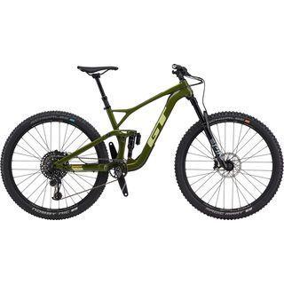 GT Sensor Carbon Expert 2020, military green - Mountainbike
