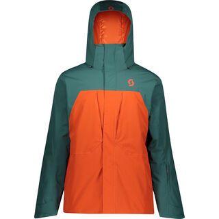 Scott Ultimate Dryo 10 Men's Jacket jasper green/orange pumpkin