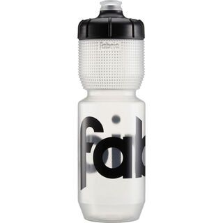 Fabric Gripper Bottle 750 ml, clear/black - Trinkflasche