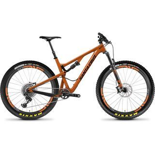 Santa Cruz Tallboy CC X01 ENVE 27.5 Plus 2018, rust/black - Mountainbike