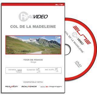 Elite DVD für RealAxiom und RealPower - Col De La Madeleine - DVD