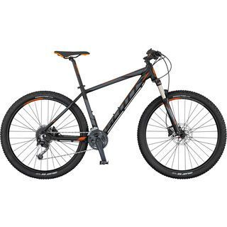 Scott Aspect 730 2017, black/grey/orange - Mountainbike