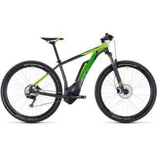 Cube Reaction Hybrid Pro 400 29 2018, iridium´n´green - E-Bike
