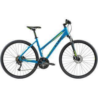 Cube Curve Pro Lady 2014, blue/green - Fitnessbike