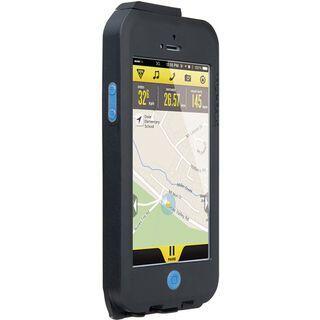 Topeak Weatherproof RideCase iPhone 5 ohne Halter, black/blue - Schutzhülle