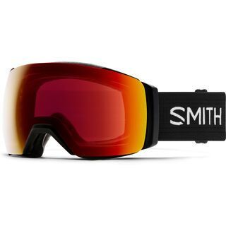 Smith I/O Mag XL inkl. WS, black/Lens: cp sun red mirror - Skibrille