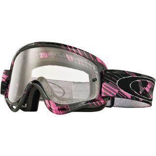 Oakley XS O Frame MX, digi-slash pink/clear - MX Brille