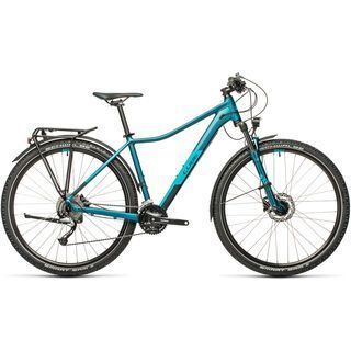 Cube Access WS Pro Allroad 29 2021, stoneblue´n´blue - Mountainbike