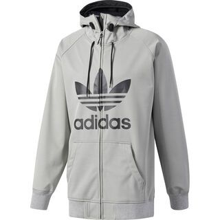Adidas Greeley Softshell Jacket, core heather/black - Softshelljacke