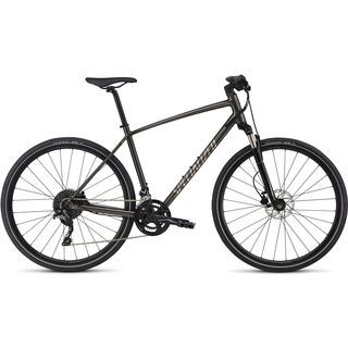 Specialized Crosstrail Elite 2018, black/chrome/charcoal - Fitnessbike