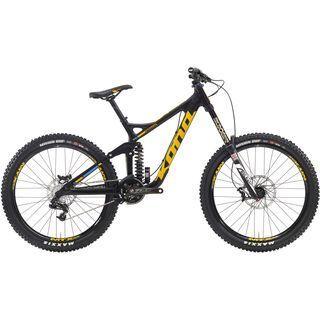 Kona Operator 2016, carbon/yellow - Mountainbike