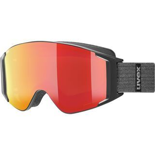 uvex g.gl 3000 TO + WS, black mat/Lens: mirror red - Skibrille