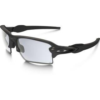 Oakley Flak 2.0 XL, steel/Lens: clear black iridium photocromatic - Sportbrille