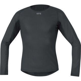 Gore Wear M Gore Windstopper Base Layer Thermo Shirt Langarm black
