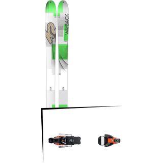K2 SKI Set: Wayback 96 2016 + Salomon STH2 WTR 16