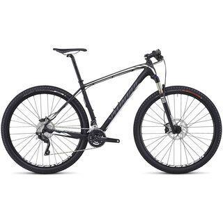 Specialized Stumpjumper HT Comp Carbon 29 2014, Carbon/Charcoal/White - Mountainbike