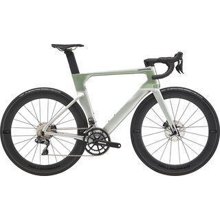 Cannondale SystemSix Carbon Ultegra Di2 2020, sage gray - Rennrad