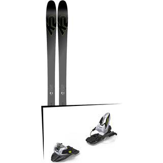 Set: K2 SKI Pinnacle 95Ti 2019 + Marker Free Ten black/white