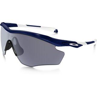 Oakley M2 Frame XL, polished navy/Lens: grey - Sportbrille