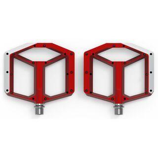 Cube Acid Pedale Flat A2-IB, red