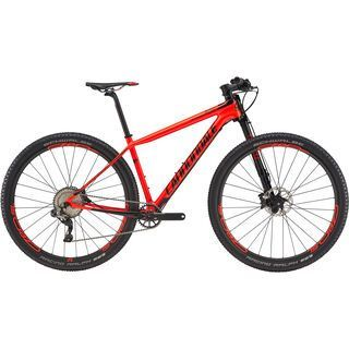 Cannondale F-Si Hi-Mod 1 29 2017, red/black - Mountainbike