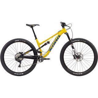 Kona Process 111 2017, yellow/blue - Mountainbike