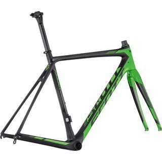 Scott Addict RC 2017, black/green - Fahrradrahmen
