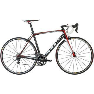 Cube Agree GTC Pro compact 2013, carbon white red - Rennrad