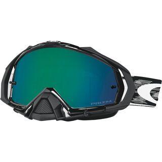 Oakley Mayhem Pro Prizm MX, jet black/Lens: jade - MX Brille
