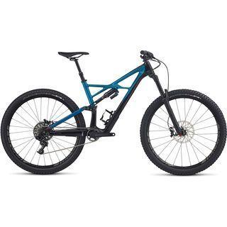 Specialized Enduro FSR Elite Carbon 29/6Fattie 2017, black/marine blue/red - Mountainbike