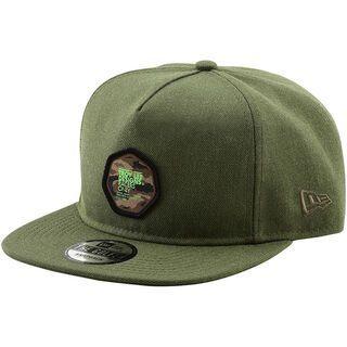 TroyLee Designs Race Camo Snapback Hat, heather army - Cap