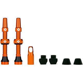 Muc-Off Tubeless Presta Valve - 44 mm orange