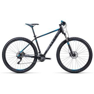 Cube Attention SL 29 2015, black/grey/blue - Mountainbike